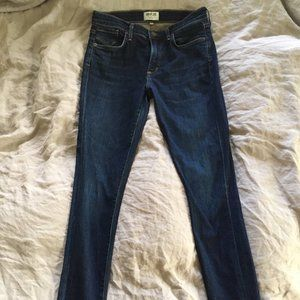 AGOLDE Sophie Midrise Skinny Jeans 28